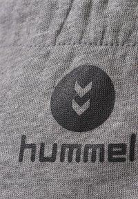 Hummel - ACTIVE  - Tracksuit bottoms - dark grey melange - 3