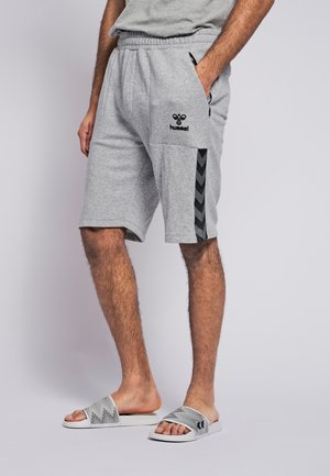 Sports shorts - grey melange