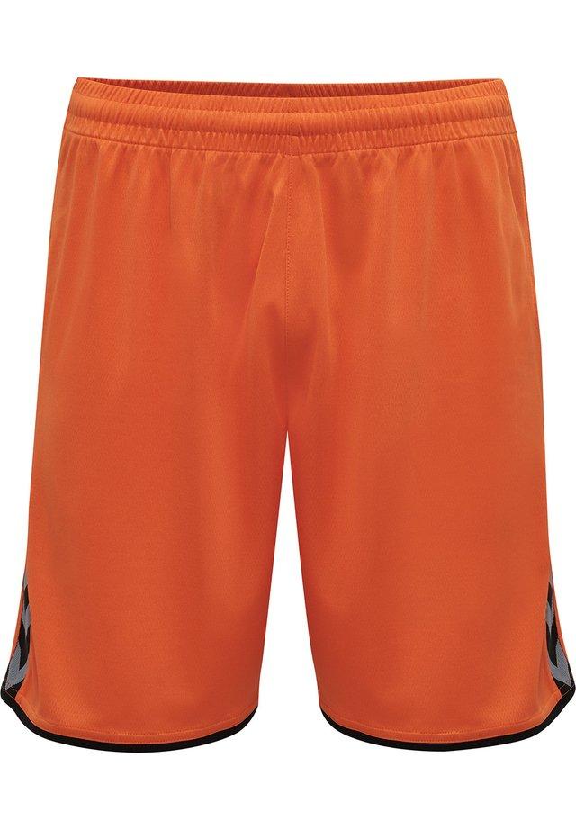 HMLAUTHENTIC  - Korte sportsbukser - tangerine