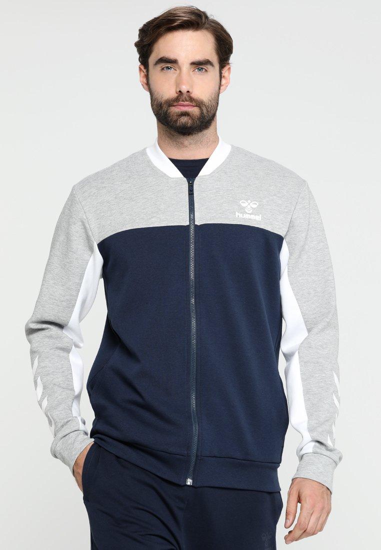 Hummel - MASON JACKET - Zip-up hoodie - black iris