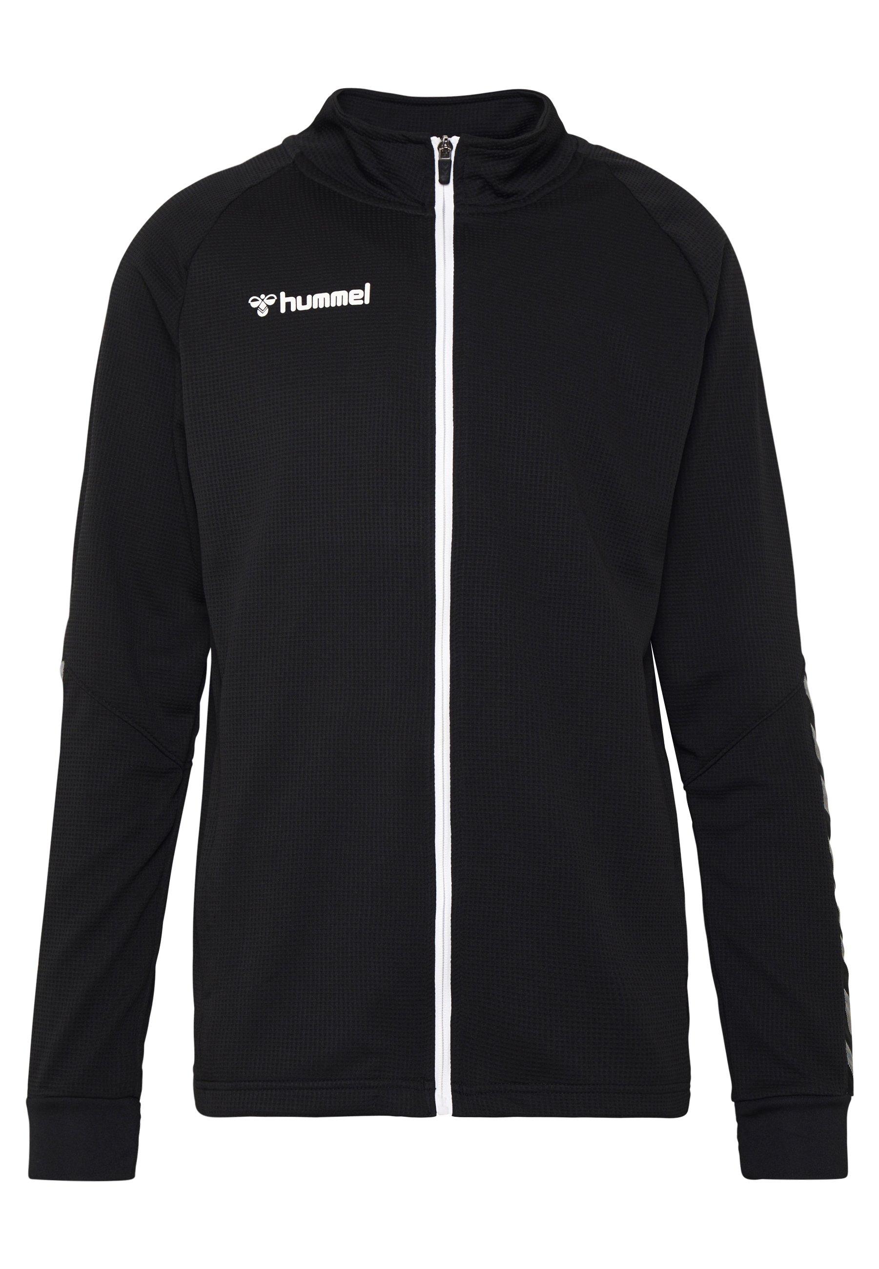 Hummel AUTHENTIC ZIP JACKET - Giacca sportiva - black/white