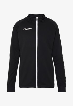 AUTHENTIC ZIP JACKET - Chaqueta de entrenamiento - black/white