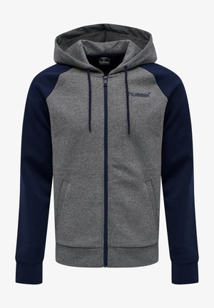 Zip-up hoodie - medium melange