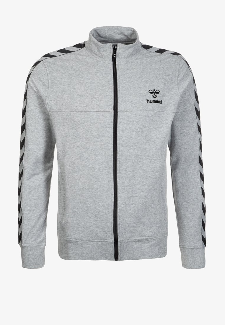 Hummel - CLASSIC BEE AAGE - Zip-up hoodie - grey/black