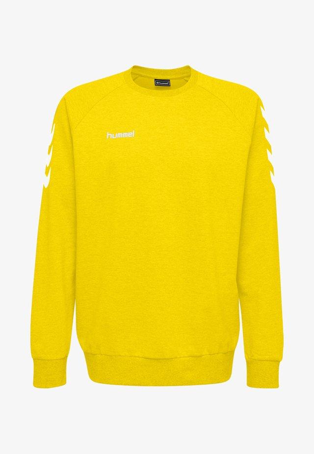HMLGO  - Sweatshirts - yellow