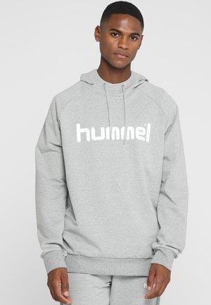 Hoodie - grey melange