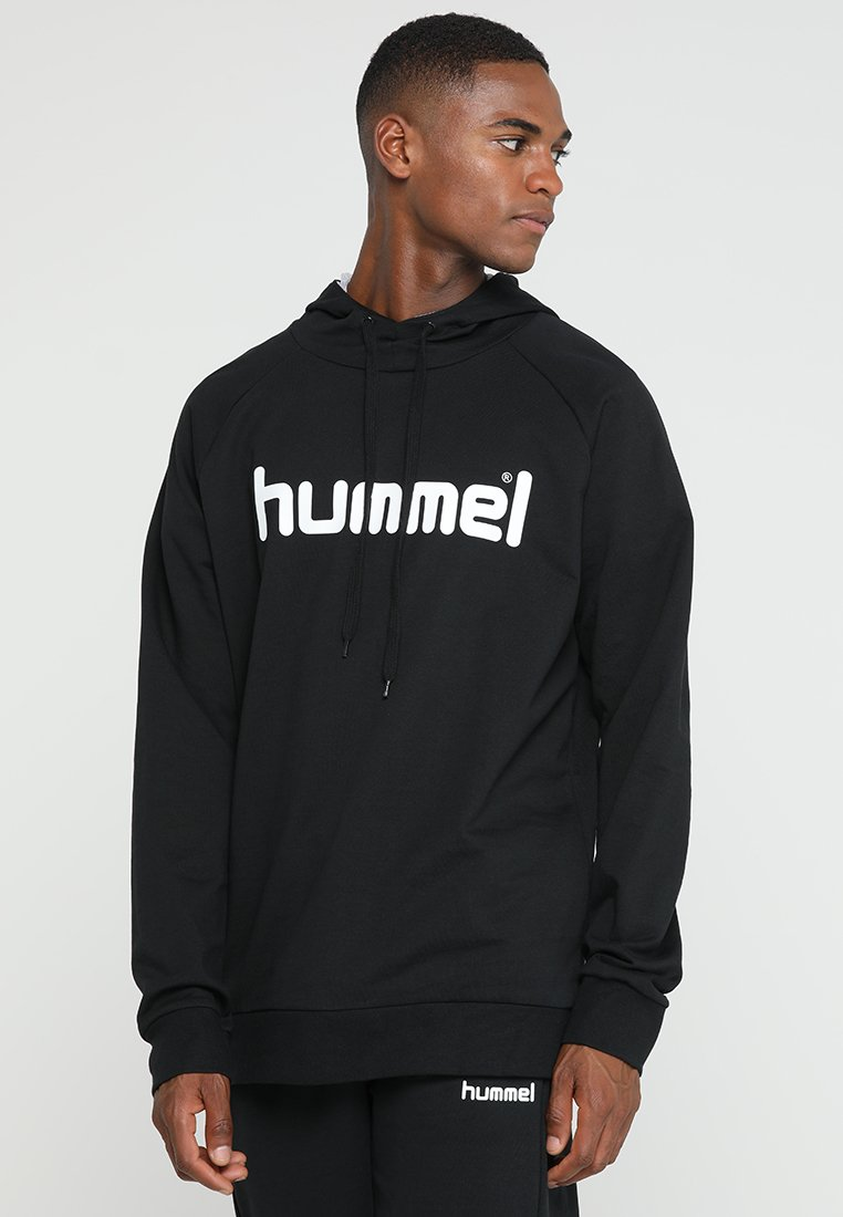 Hummel - Bluza z kapturem - black