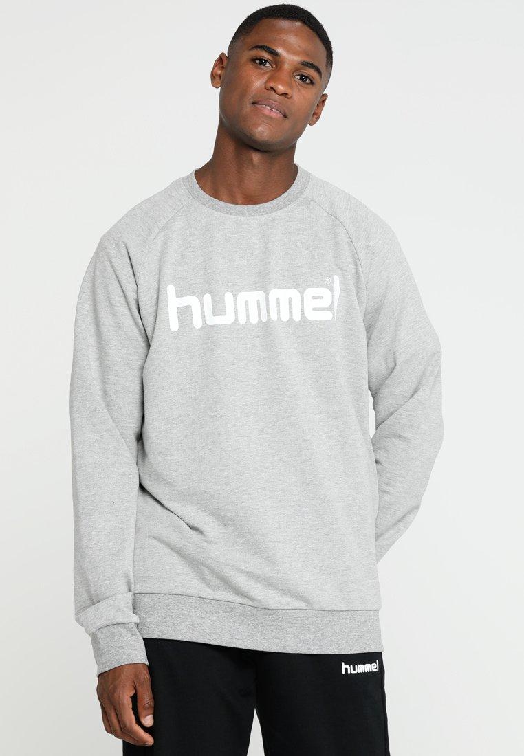 Hummel - GO LOGO - Sudadera - grey melange