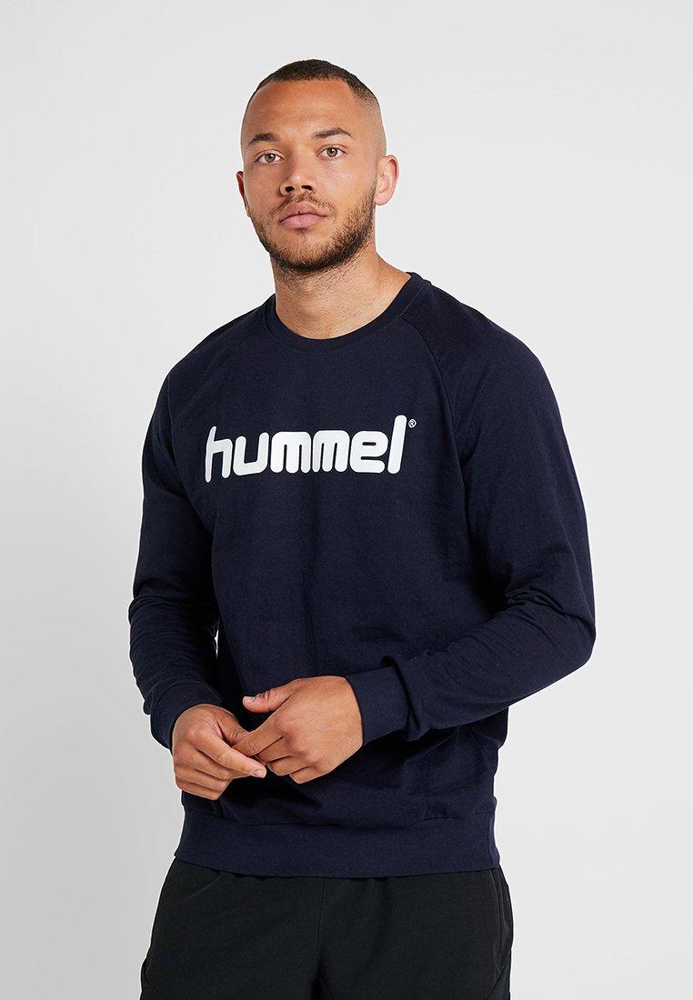 Hummel - GO LOGO - Felpa - marine