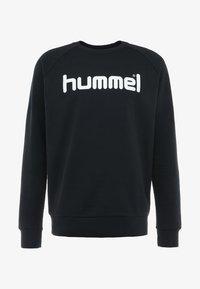 Hummel - GO LOGO - Sudadera - black - 3