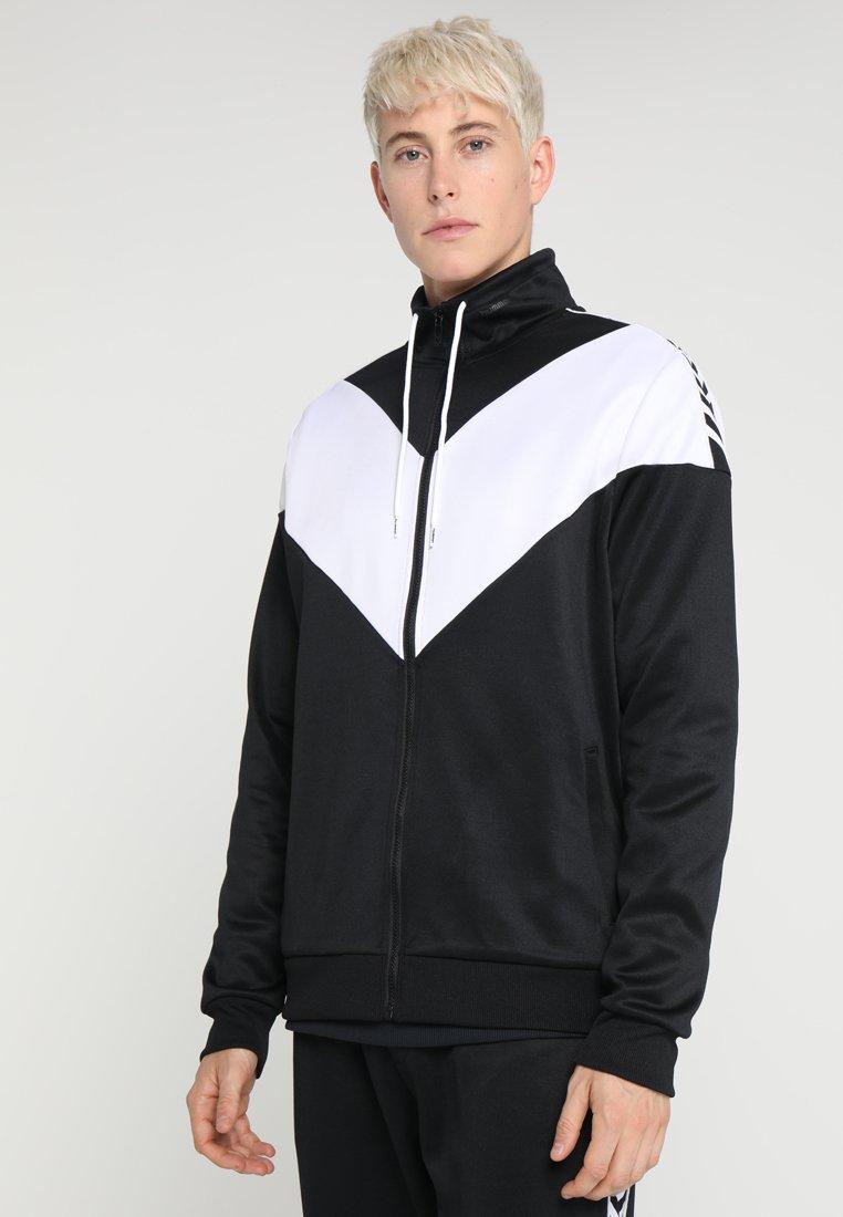 Hummel Hive - HMLASTON ZIP JACKET - Training jacket - black