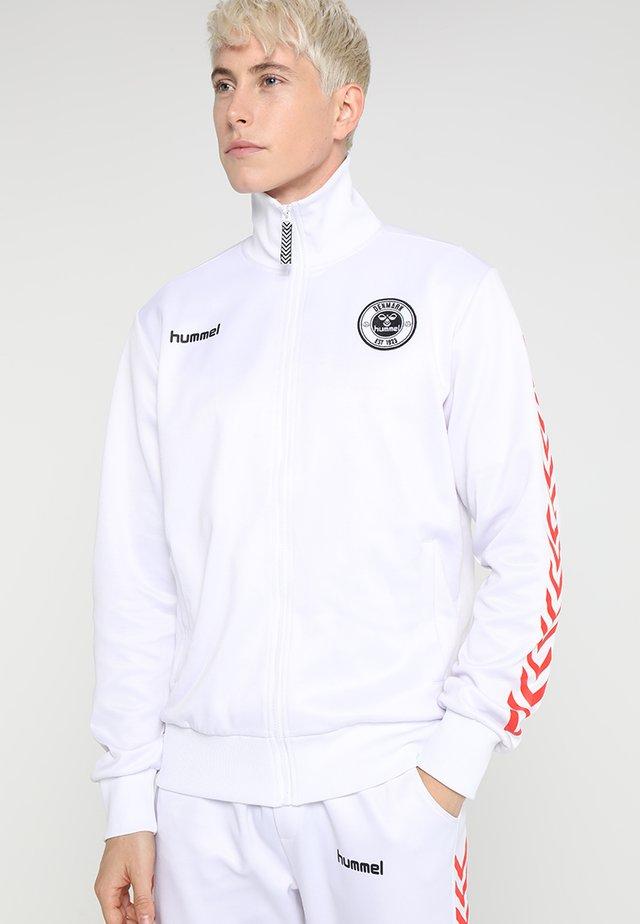 ALFRED ZIP JACKET - Training jacket - white