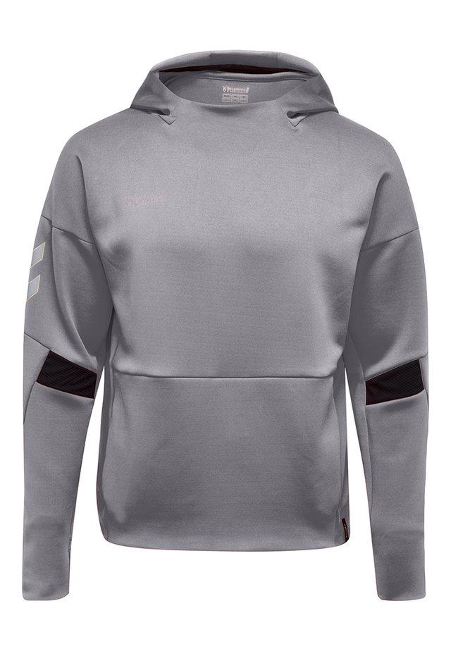 Luvtröja - grey melange