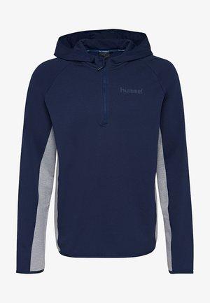 HMLSTAFFEN - Hoodie - real navy