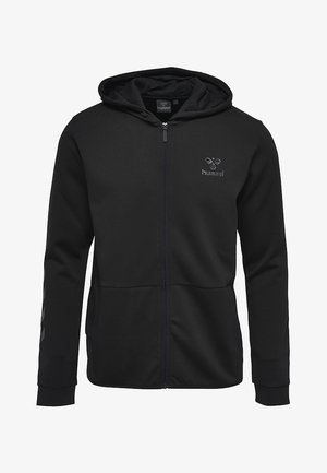 HMLGUY  - Zip-up hoodie - black