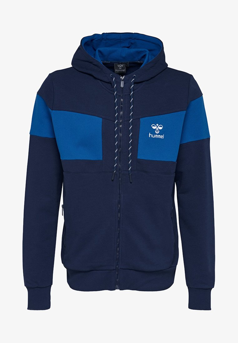 Hummel - Zip-up hoodie - real navy