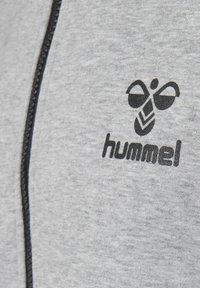 Hummel - MAESTRO ZIP JACKET - Hoodie met rits - gray melange - 3