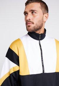 Hummel - HMLDRACO HALF ZIP - Sweatshirt - black - 3