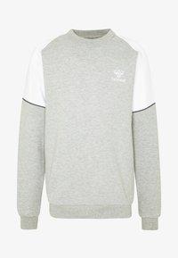 Hummel - LAYTON - Collegepaita - grey melange - 4