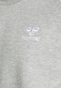 Hummel - LAYTON - Collegepaita - grey melange - 5
