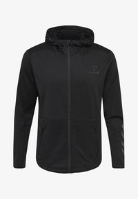 Hummel - ASTON - Zip-up hoodie - black - 5