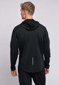 Hummel - ASTON - Zip-up hoodie - black - 2