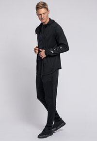 Hummel - ASTON - Zip-up hoodie - black - 1