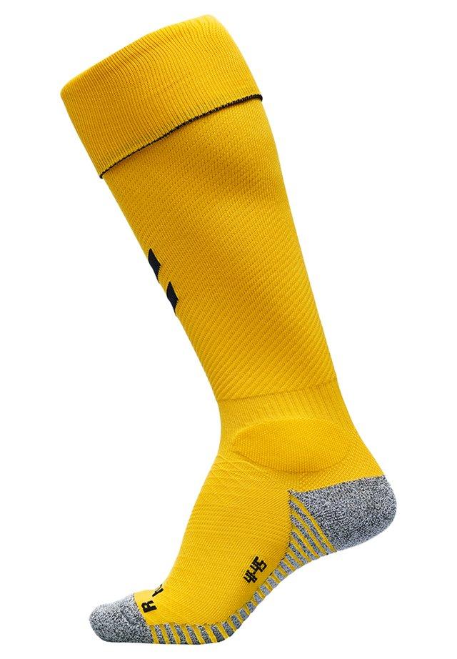 Knæstrømper - sports yellow/black