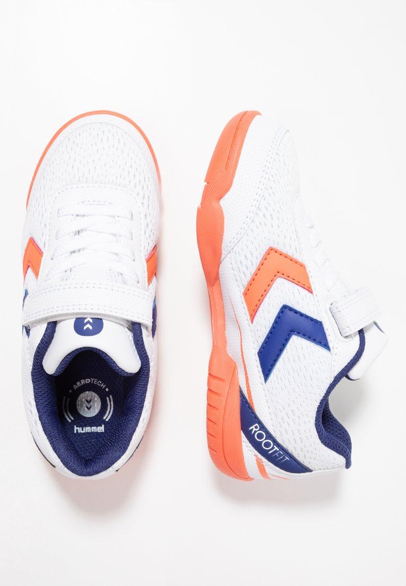 Hummel - ROOT 3.0 - Handball shoes - living coral