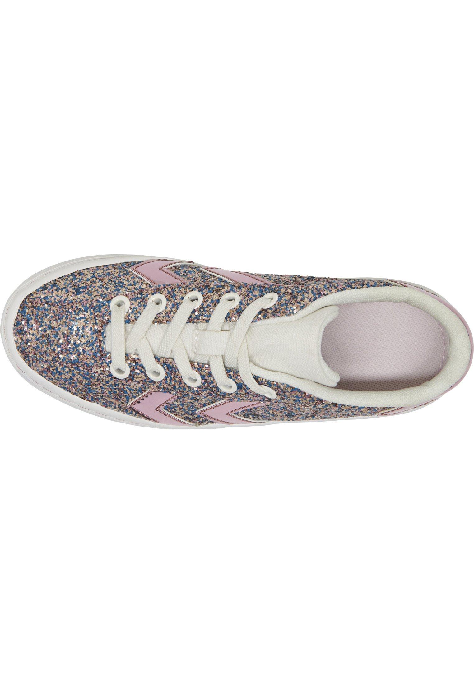 Hummel DIAMANT GLITTER JR - Sneakersy niskie - lilac snow