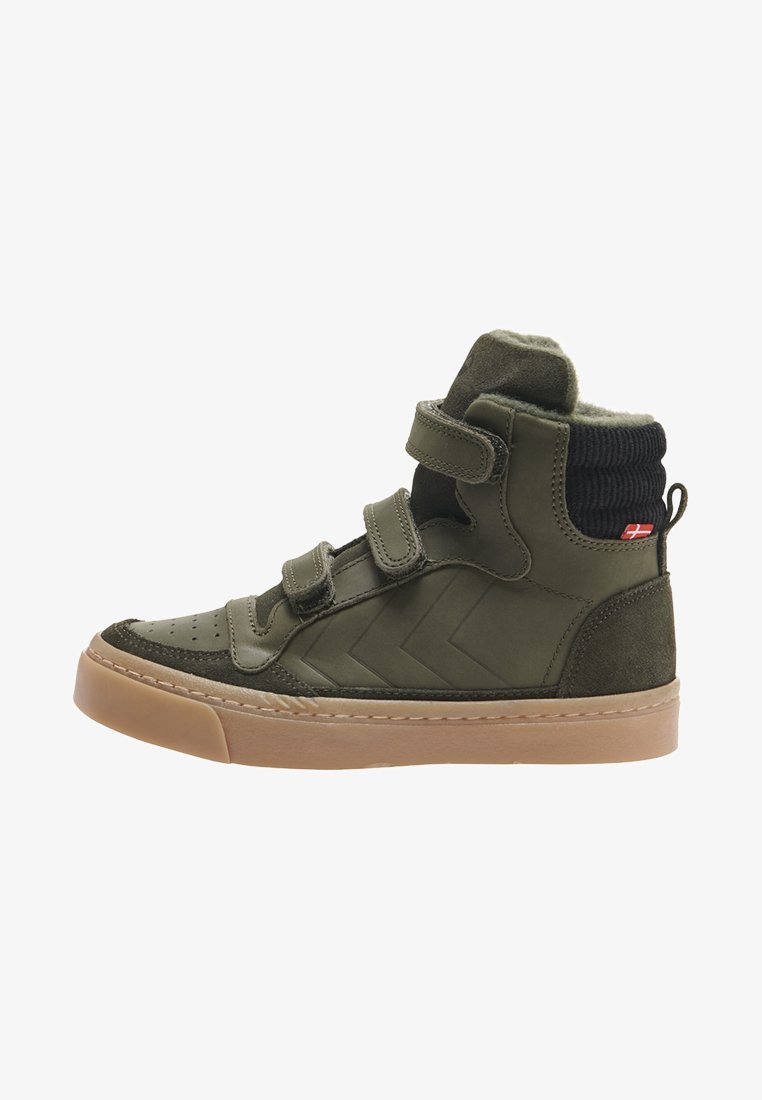 Hummel - STADIL NATURE JR - High-top trainers - forrest night