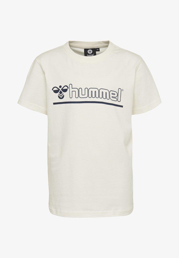 Hummel - REGULAR FIT - T-shirts print - bright white