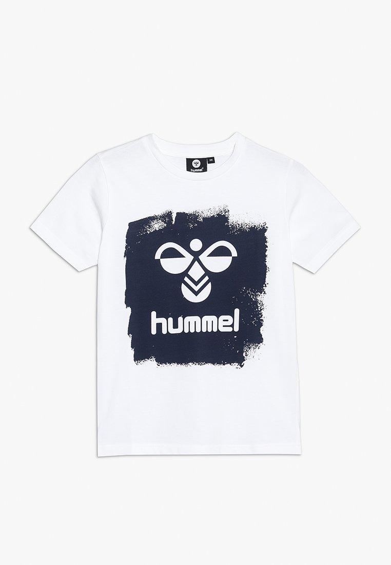Hummel - MICK - T-shirt med print - white