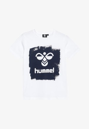 MICK - Camiseta estampada - white