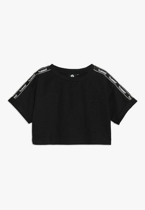 HMLNORA  - T-shirt con stampa - black