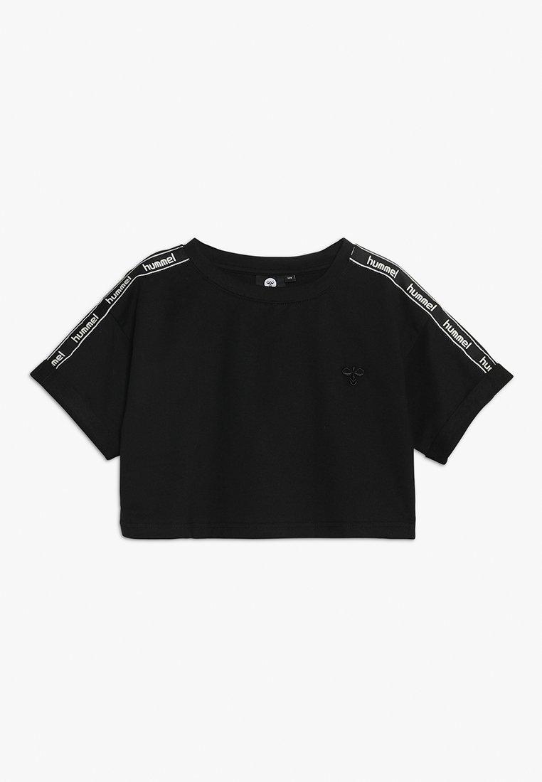 Hummel - HMLNORA  - T-shirt z nadrukiem - black