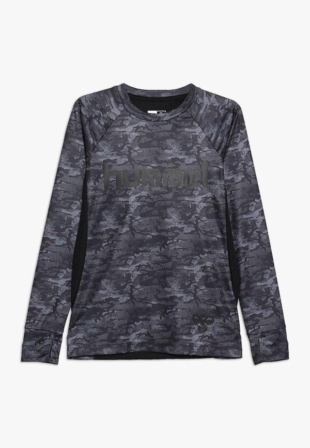 ROAR - Pitkähihainen paita - black/grey