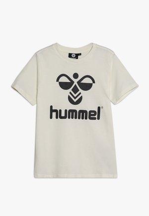 HMLTRES - T-shirts med print - whisper white