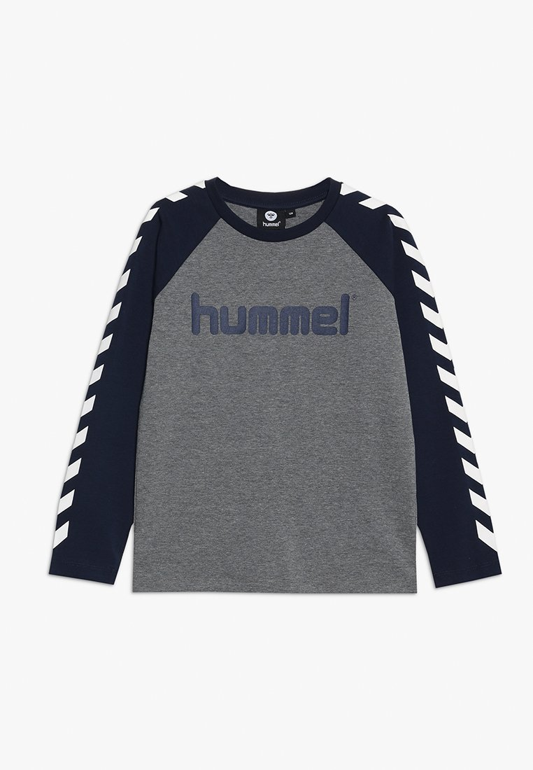 Hummel - HMLBOYS  - Langærmede T-shirts - black iris