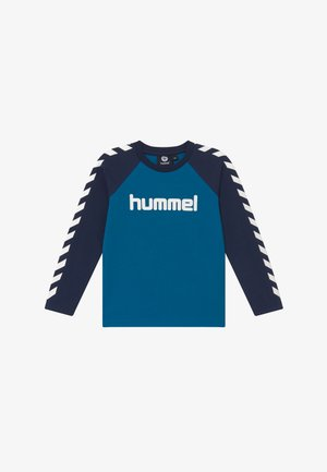 BOYS  - Long sleeved top - blue sapphire