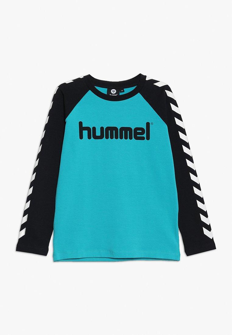 Hummel - HMLBOYS  - Camiseta de manga larga - black/lake blue