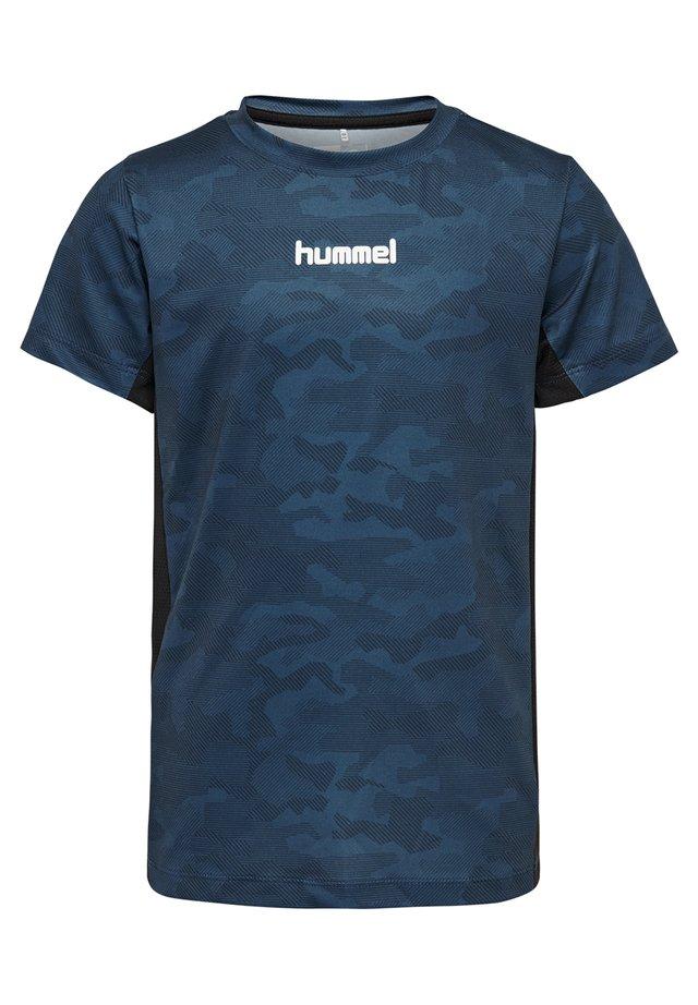 HMLRUSSEL  - T-shirts print - stellar