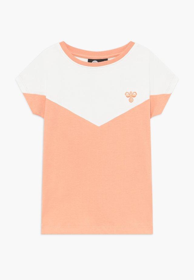 CIETE - Camiseta estampada - coral pink