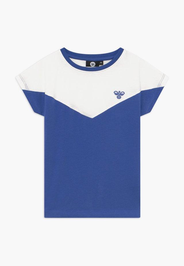 CIETE - Triko spotiskem - amparo blue