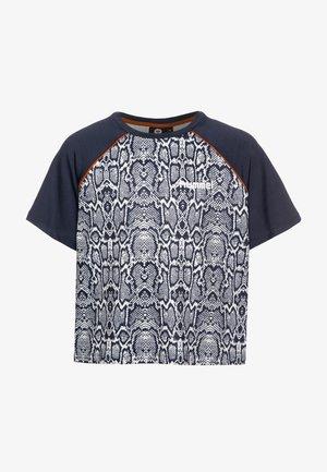 T-shirt print - blue nights
