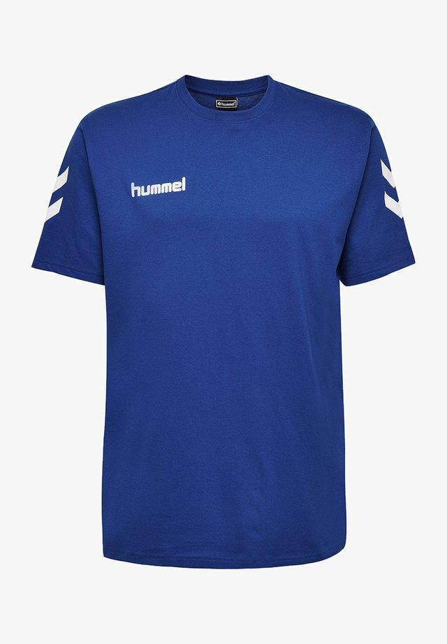 HMLGO - T-shirts print - true blue