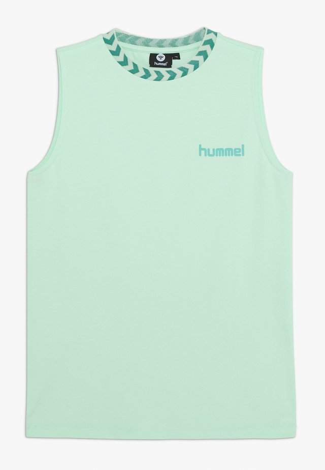 JANET - Top - dusty aqua