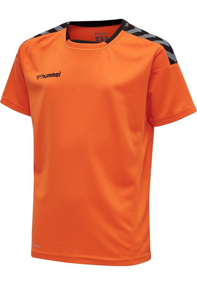 T-shirts print - tangerine
