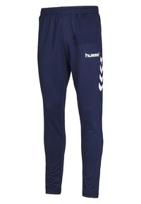 Hummel - CORE FOOTBALL PANT - Tracksuit bottoms - navy - 2