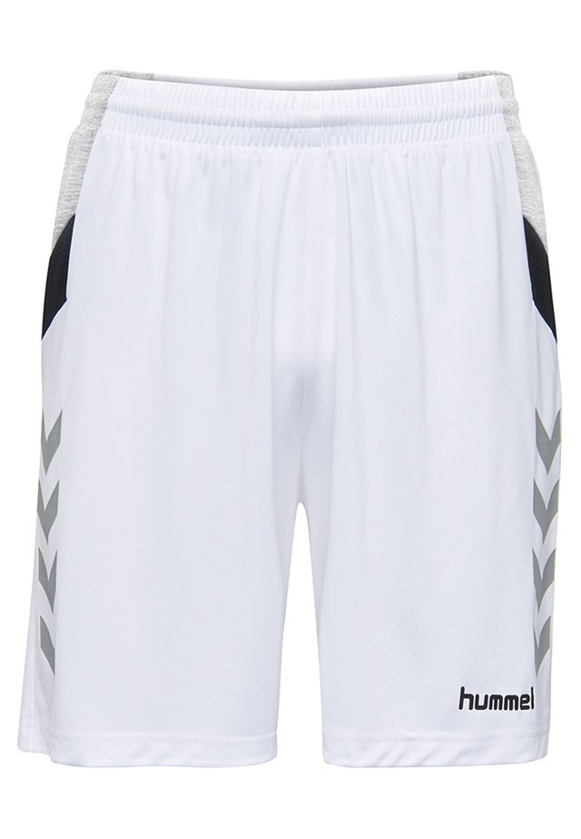 TECH MOVE - Korte sportsbukser - white